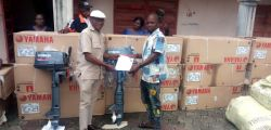 13 Beneficiaries Received Engine Boats in Opuorubo Community - Bayelsa State