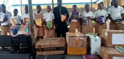 Twon Brass Textbook & Computer Handing Over Ceremony - Bayelsa State