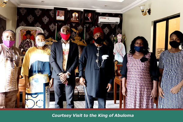Abuloma Kingdom Endorses Support for Women in Microenterprise Project